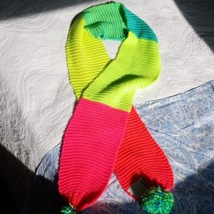 Colorful Girls' Scarf